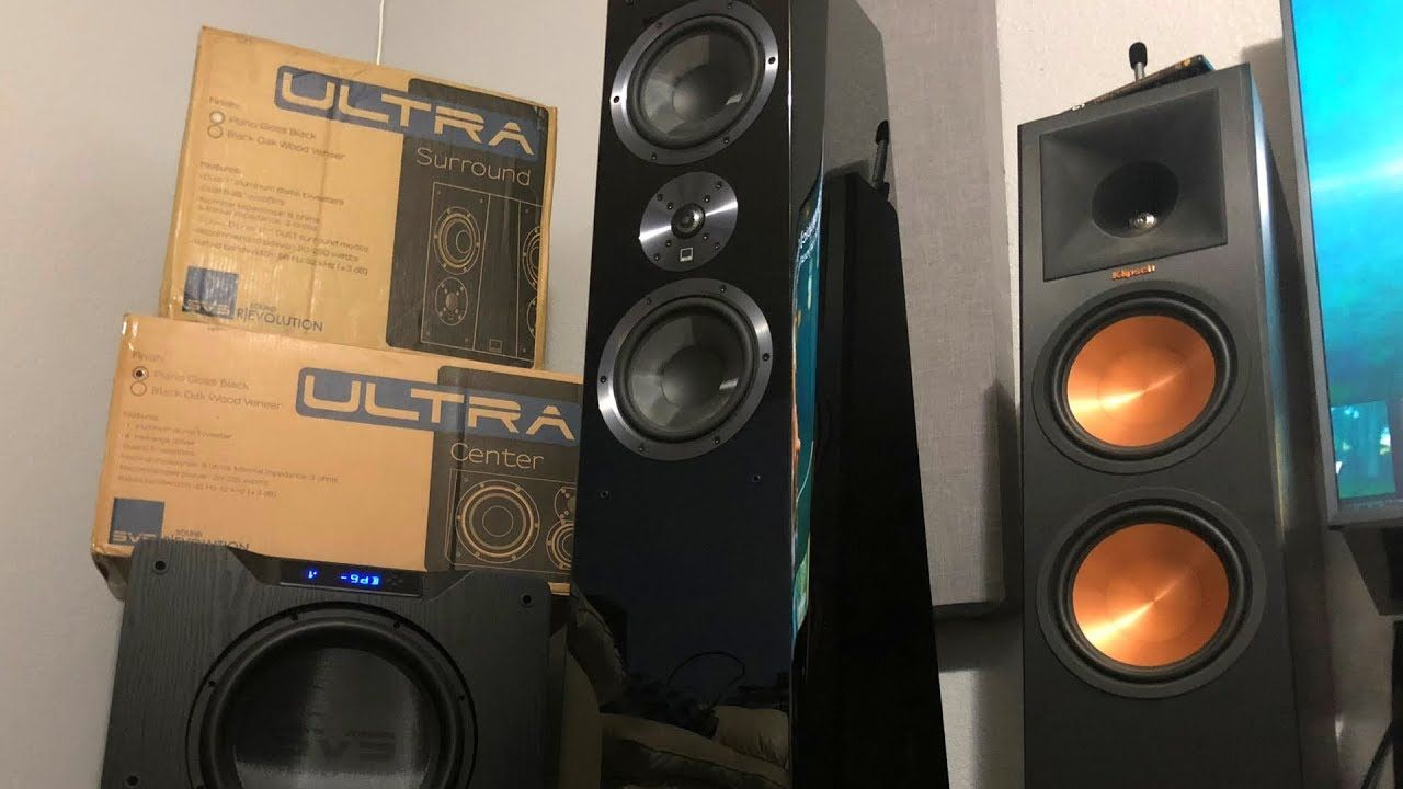 Svs Ultra Surround Speakers Unboxing Duet Mode Offers 2 Speakers For The Price Of 1 Hometheater Surroundsound Audiophi Surround Speakers Speaker Unboxing
