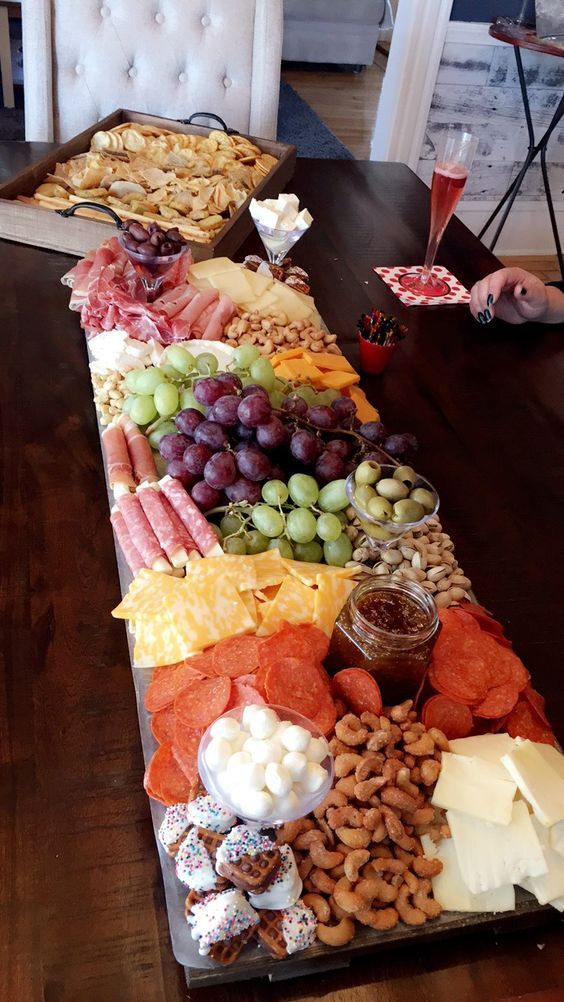 55 Easy & Delicious Baby Shower Food Ideas #partyfoodappetizers