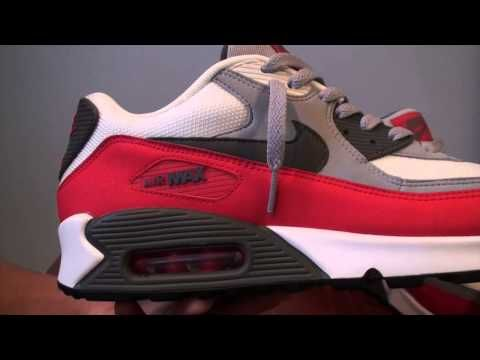 Nike Air Max 90 Essential Sneaker Review! On Foot! - YouTube