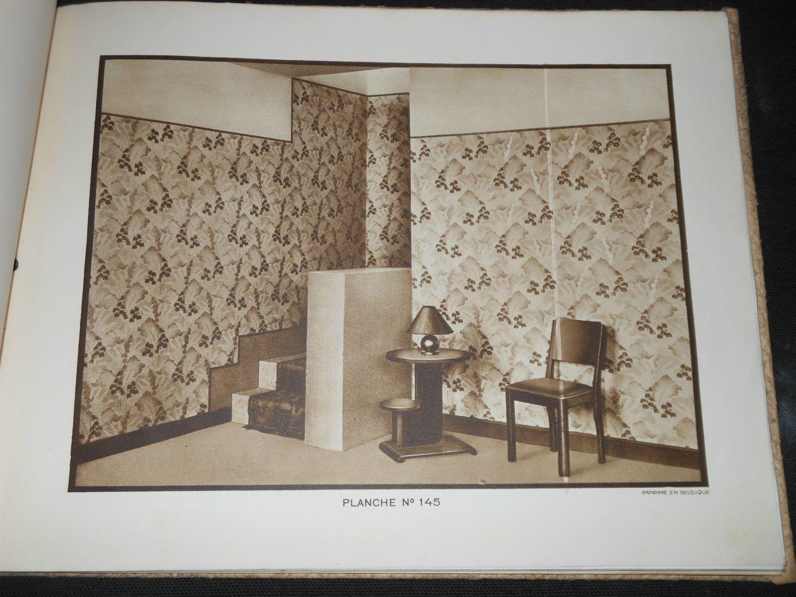 Architecte D Intérieur En Belgique art deco ancien catalogue 29 planches architecture d