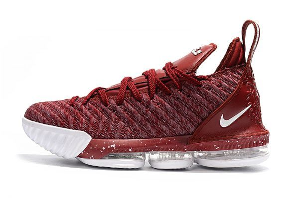 1f5fd440d71 ... sneakers red blue black lebron 16  2018 nike lebron james 16 wine red  wine white shoes for sale