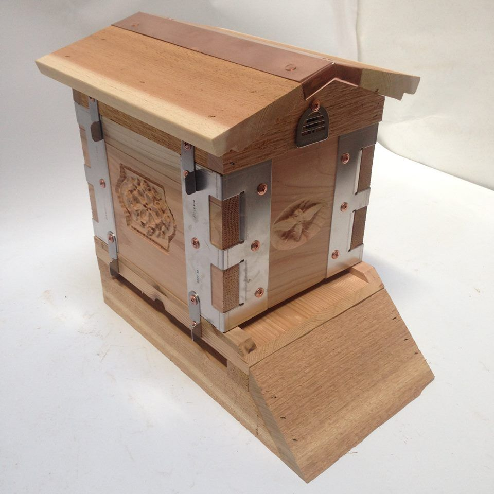 Collector Mini Urban Beehive by Eco Bee Box Albert Chubak