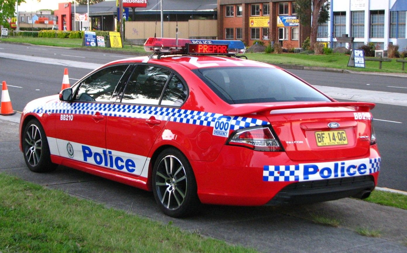 2010 Ford Fg Falcon Xr6 Turbo New South Wales Police Force