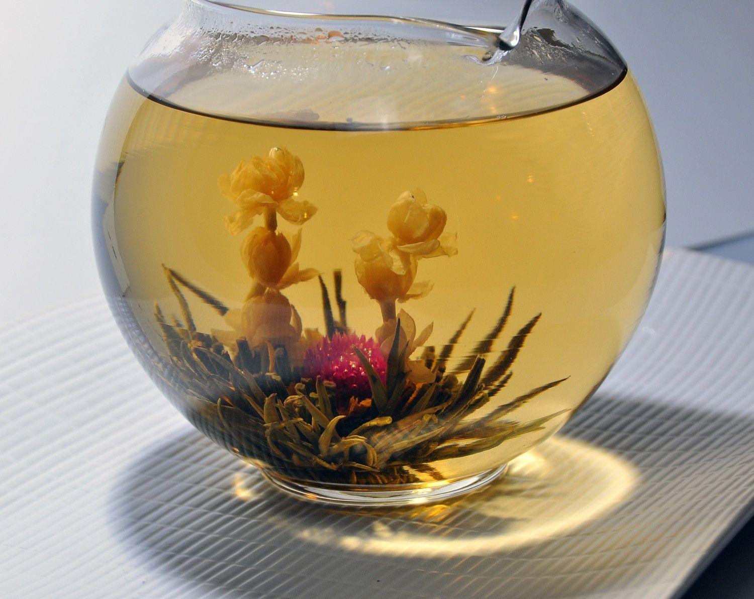 Blooming Tea...it's so pretty!