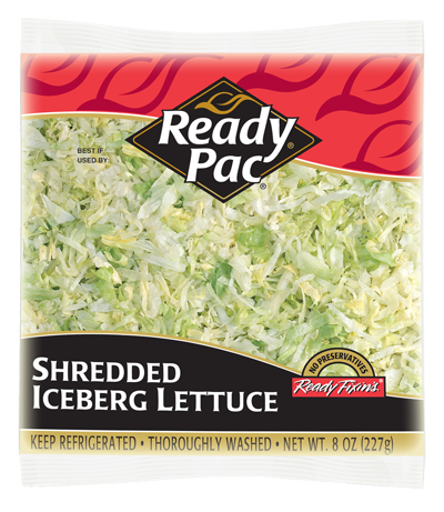 Ready Veggies: Shredded Iceberg lettuce perfect for a ...
