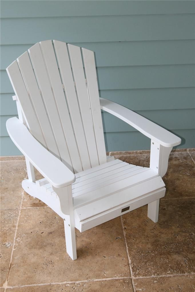 Adirondack Chair Cape Cod Chair Deck Chair Outdoor Furniture Without  Footrest: $155