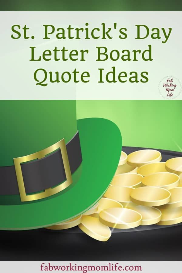 7 ideas for the Lucky St. Patrick Day wall, #Day #ideas # ...