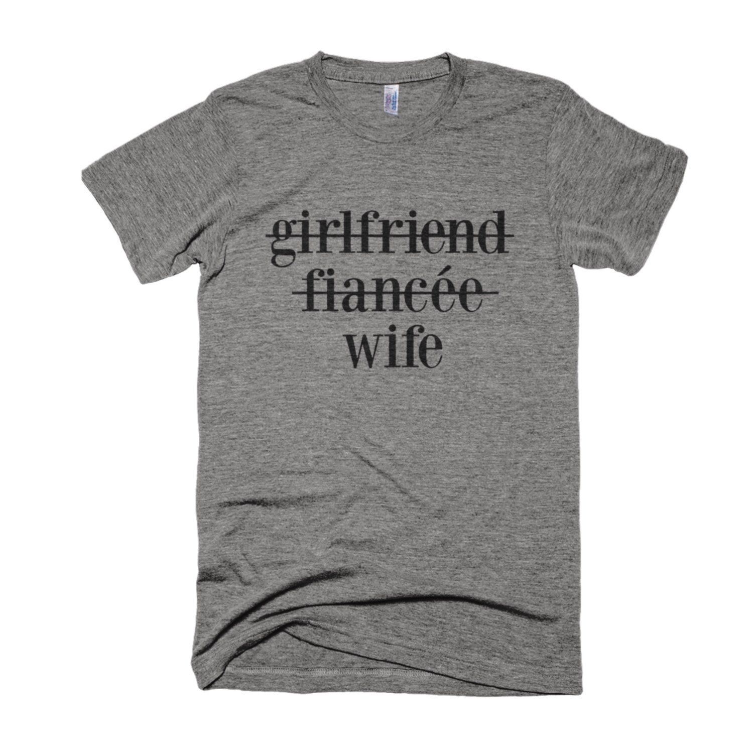 Friend Fiancee Wife Shirt Wifey Wedding Honeymoon Graphic Typography Gift By Eastandwillow On Etsy