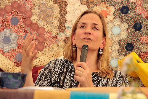 Tracy Chevalier ~ Port Eliot Festival 2012 Tous droits réservés - Tommy Hatwell