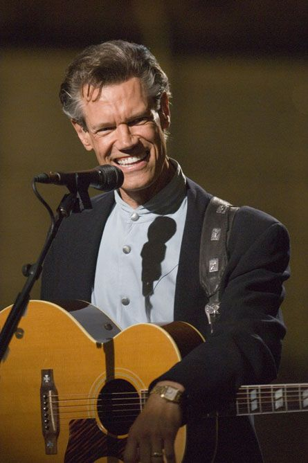 Randy Travis ... I sure hope he gets his life turned around and come back to his fans. Sad to see him in the state he's been in lately :(