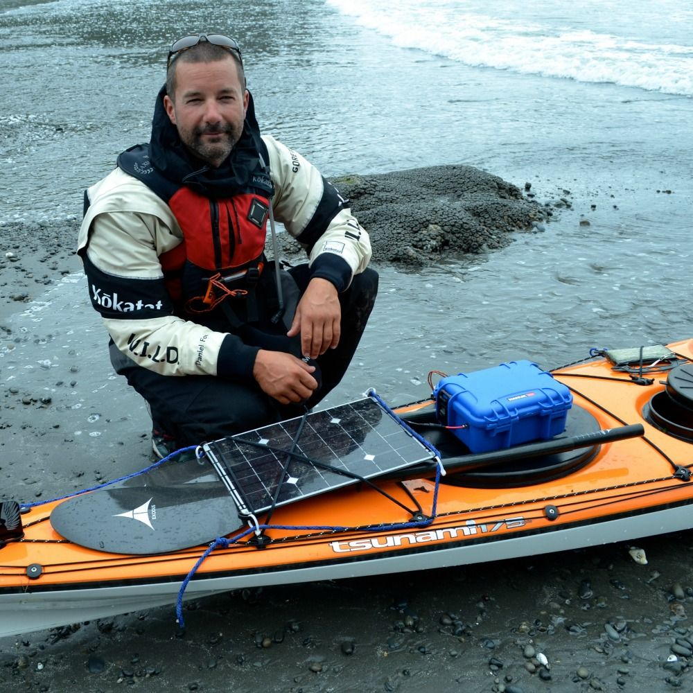 Solar for Canoes, Kayaks and Rafting Kayak accessories
