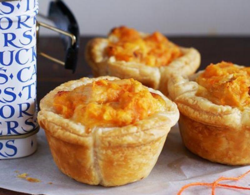 Cheese, corn and sweet potato quiches   Recipes   Kidspot