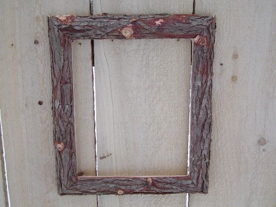 Rustic Cedar Log Picture Frame Put Around Bulletin Board And White Board And Maybe Maps Custom Picture Frame Picture Frames Rustic Frames