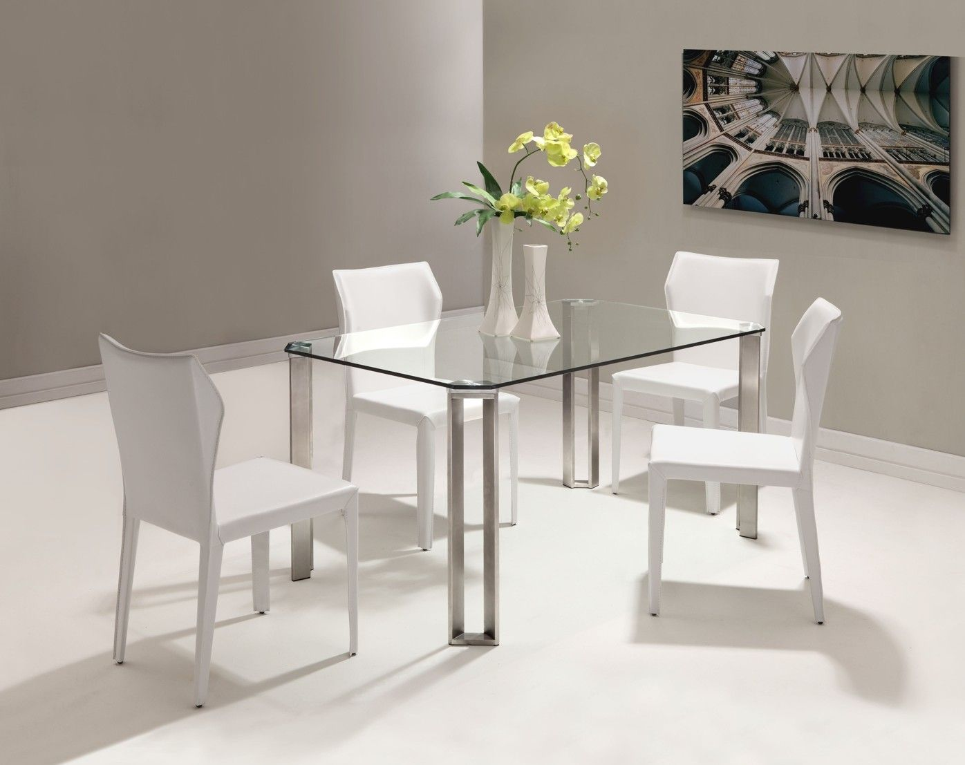 Artwork Of The Small Rectangular Dining Table That Is Perfect For