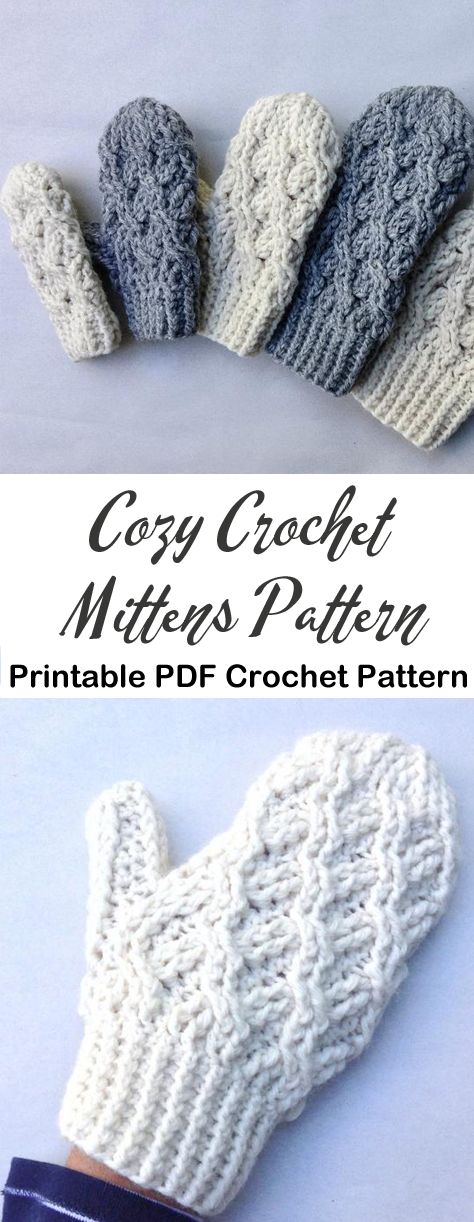 Photo of Make a Cozy Pair of Mittens –   – #Cozy #craftstodowhenbored #holidaycrafts #mit…