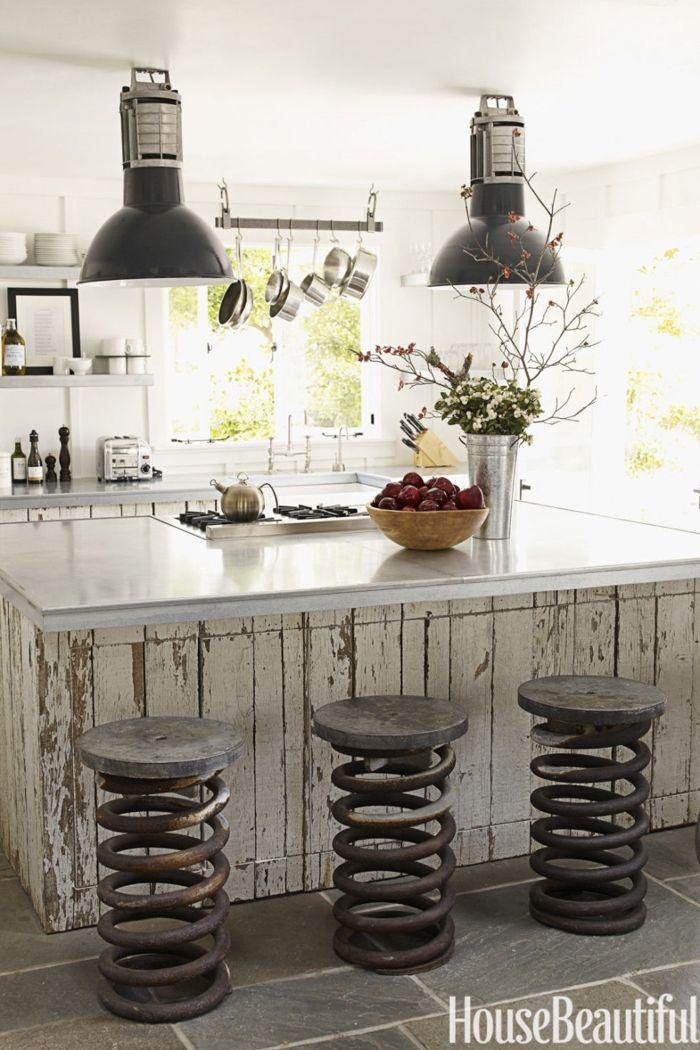 ▷ 1001+ ideas para organizar las cocinas pequeñas | Barras de ...