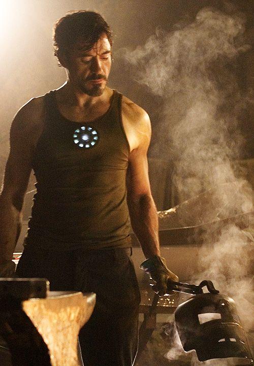 Robert Downey Jr  as Tony Stark in Iron Man (2008)/Iron Man