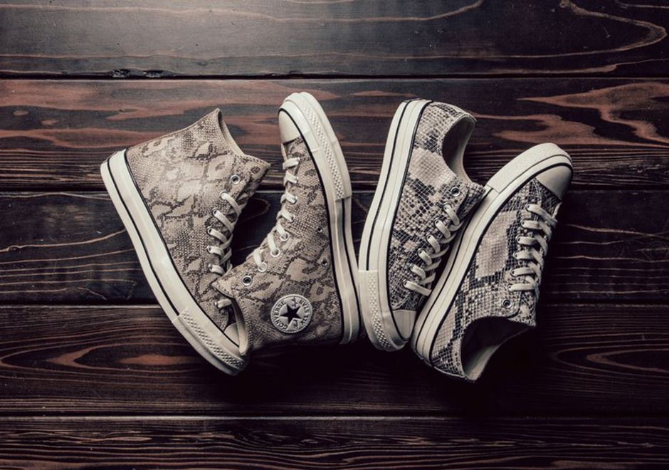 Converse Chuck Taylor All Star '70 High Top Trainers In Snake Print