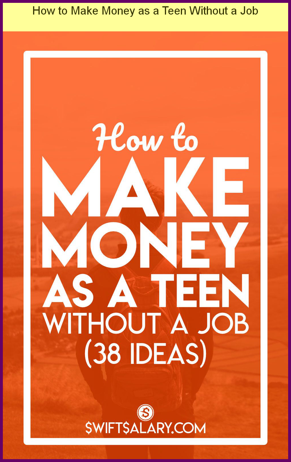 How To Get Money As A Teenager Without A Job
