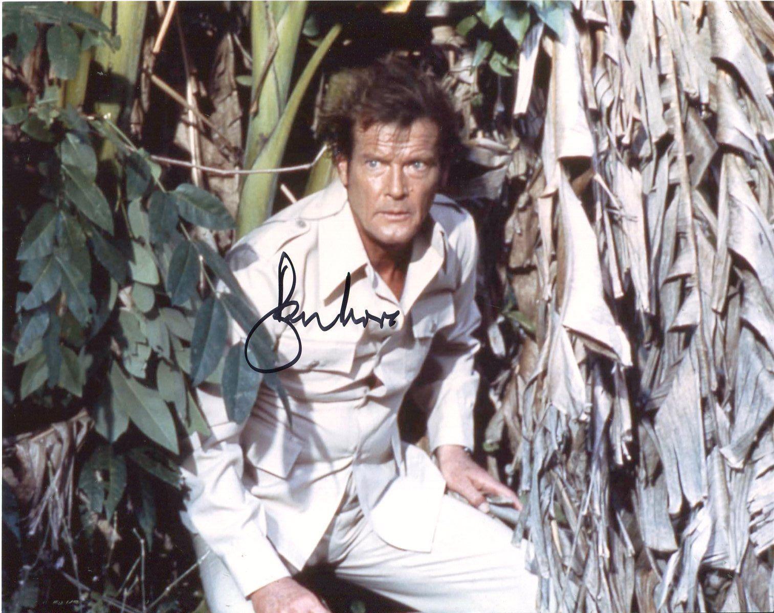 "Roger Moore, ""Octopussy"" (1983) | Bond films, James bond ..."