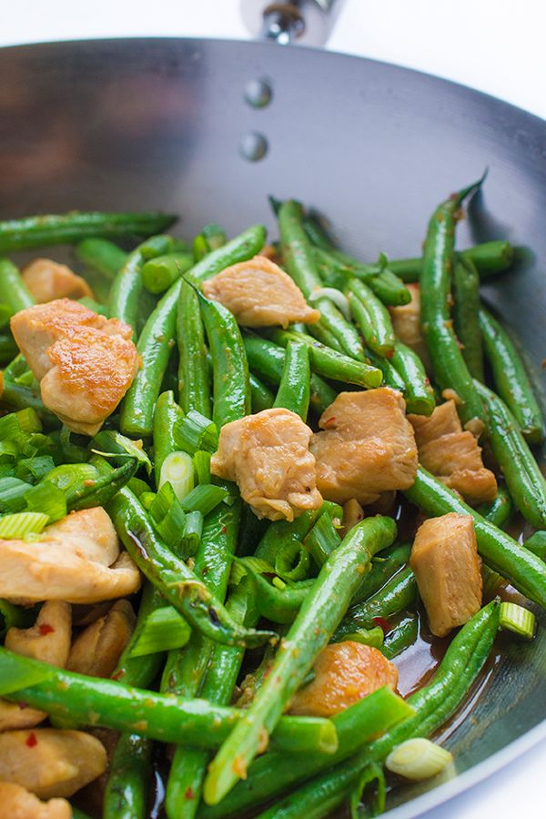 20 new and much more exciting ways to eat green beans green chicken and green bean stir fry forumfinder Images