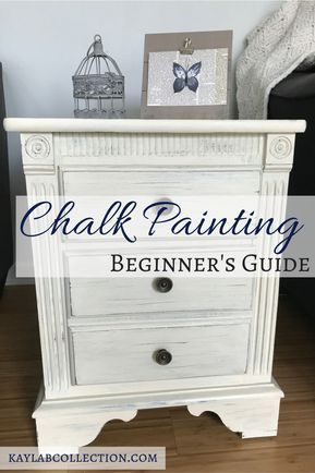 Easy DIY Chalk Paint Tutorial for Beginners | Kayla B. Collection | Lifestyle Blog