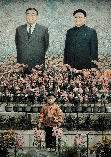Number 23 in front of the Great Leaders Pyongyang North Korea by Eric Lafforgue, via Flickr