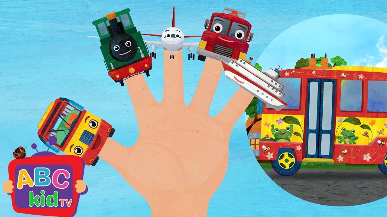 Finger Family Vehicles Nursery Rhymes Kids Songs Abckidtv