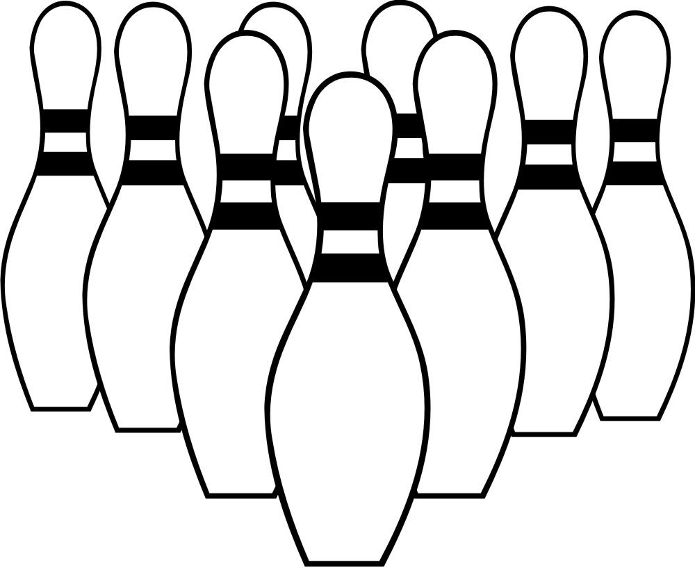 bowling clipart free clip art party ideas pinterest rh pinterest ie free bowling clipart images free bowling clip art black and white