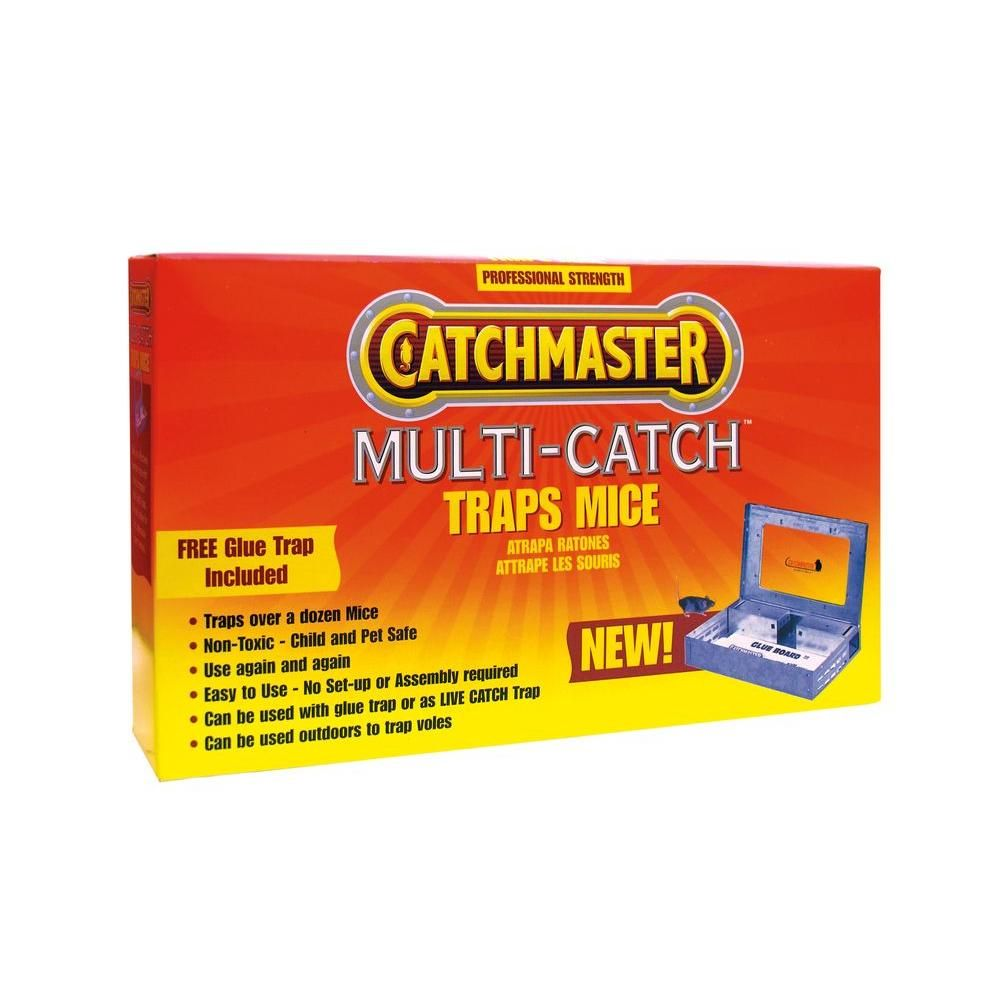 Catchmaster Multi Catch Metal Mouse Trap 606mc The Home Depot