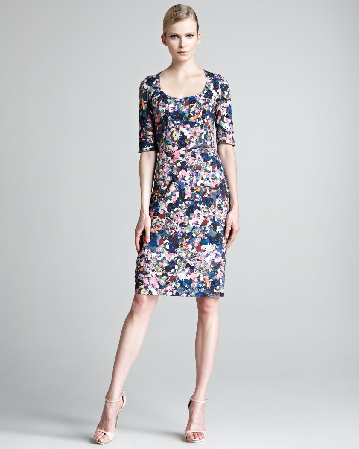 Etta floral print dress neiman marcus i want to wear etta floral print dress neiman marcus ombrellifo Choice Image