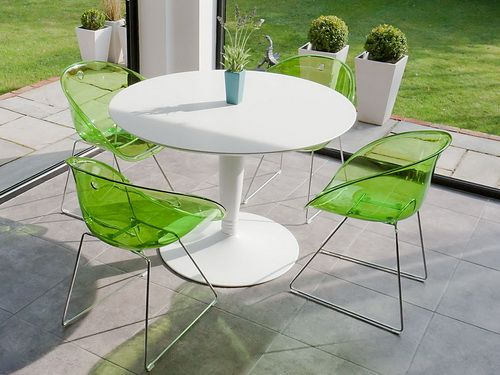 white round dining tables and green chairs round dining tables rh pinterest co uk