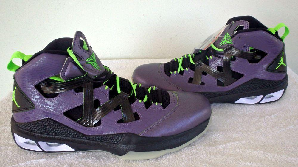 cheap for discount f639f d77a7 ... sweden nike jordan air melo m9 allstar mens purple blk shoes 587858 539  sz 11 4b1a8