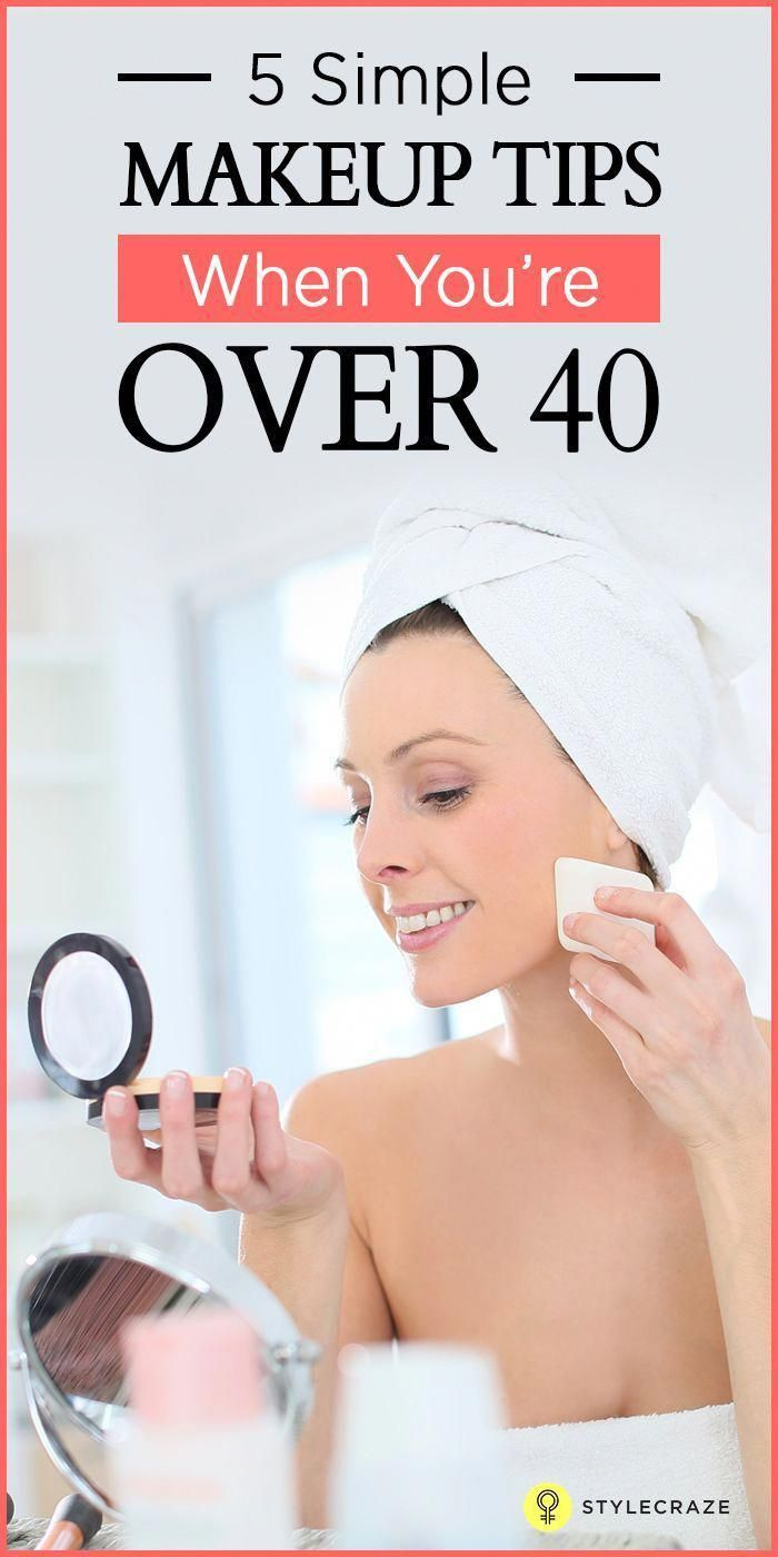 Makeup For Women Over 40: A Simple Tutorial And Tips In