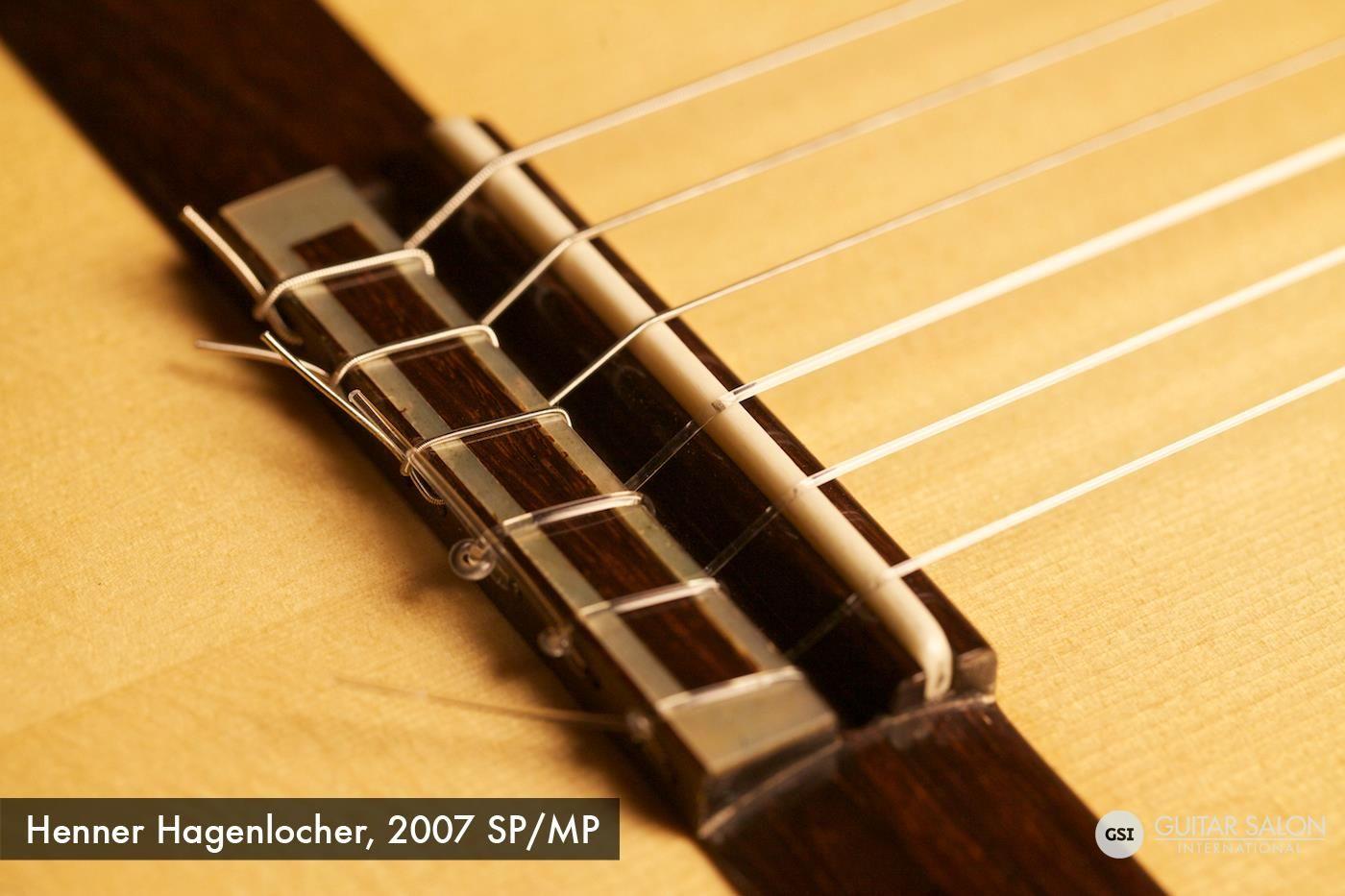2007 Henner Hagenlocher Sp Mp Classical Guitar Guitar Music Technology