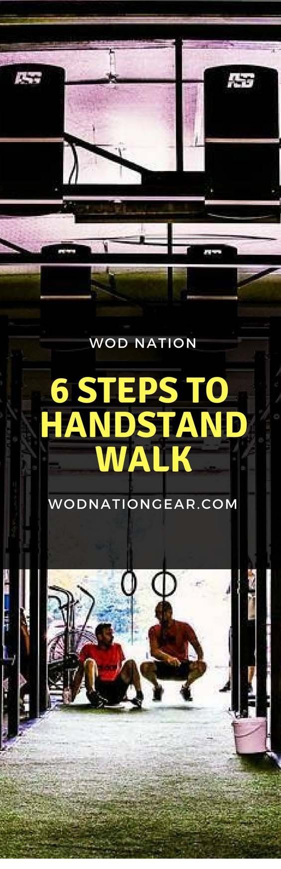 6 Easy Steps To Learn How To Handstand Walk Handstand Easy Workouts Fun Workouts