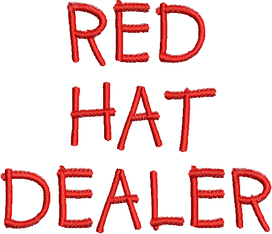 Red Hat Stella - Machine Embroidery Designs by Splinters & Threads