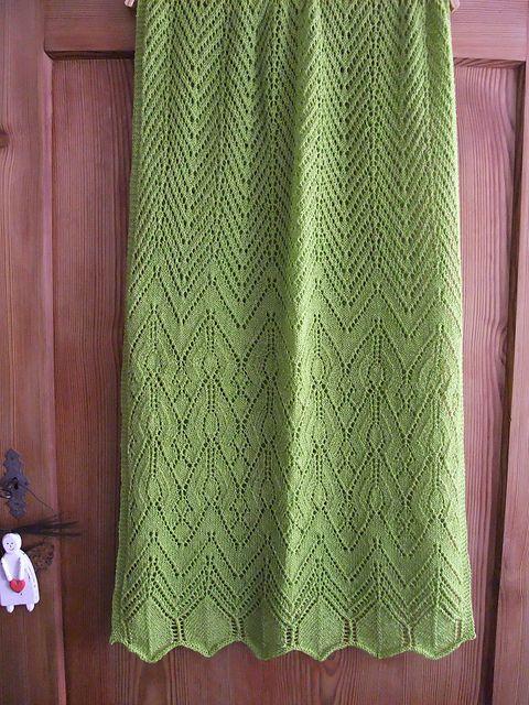 Free Pattern: Anthemion Wrap by Miriam L. Felton   Sweaters ...