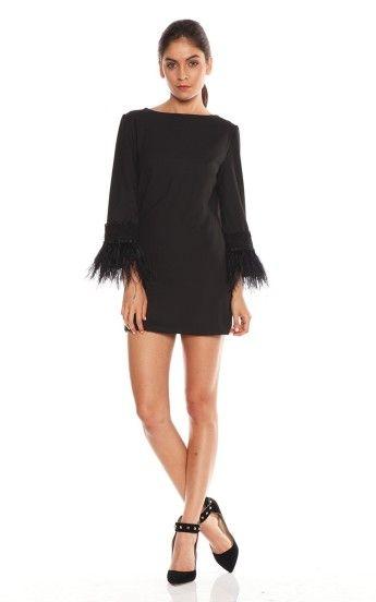Lovers  Friends Portia Dress 01 - Black copy