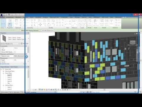 BIMobject® Steni Facade cladding System for Revit: Step by Step Tutorial - YouTube