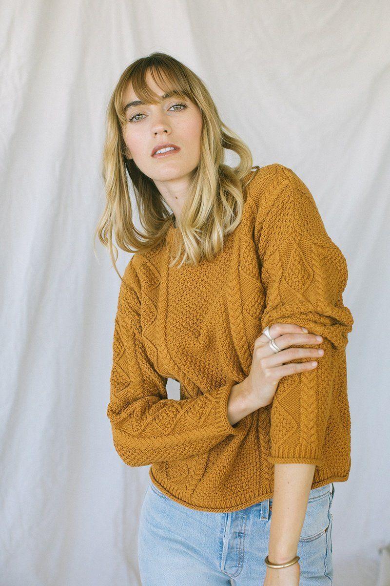 Modern Fisher Sweater Sienna in 2019