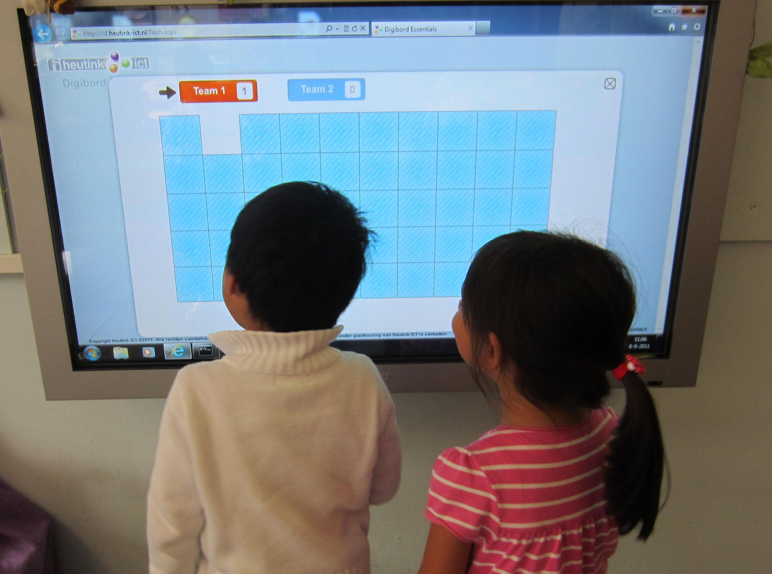 Ook moet elke school in 2030 een digibord met touchscreen.   2 De ...