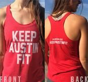 Keep Austin Fit Tank (Women's)