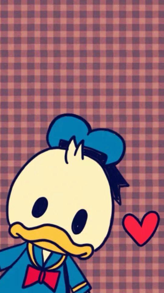 Cute Disney Wallpaper Iphone Cellphone Backgrounds Wallpapers Duck Donald Bay Max