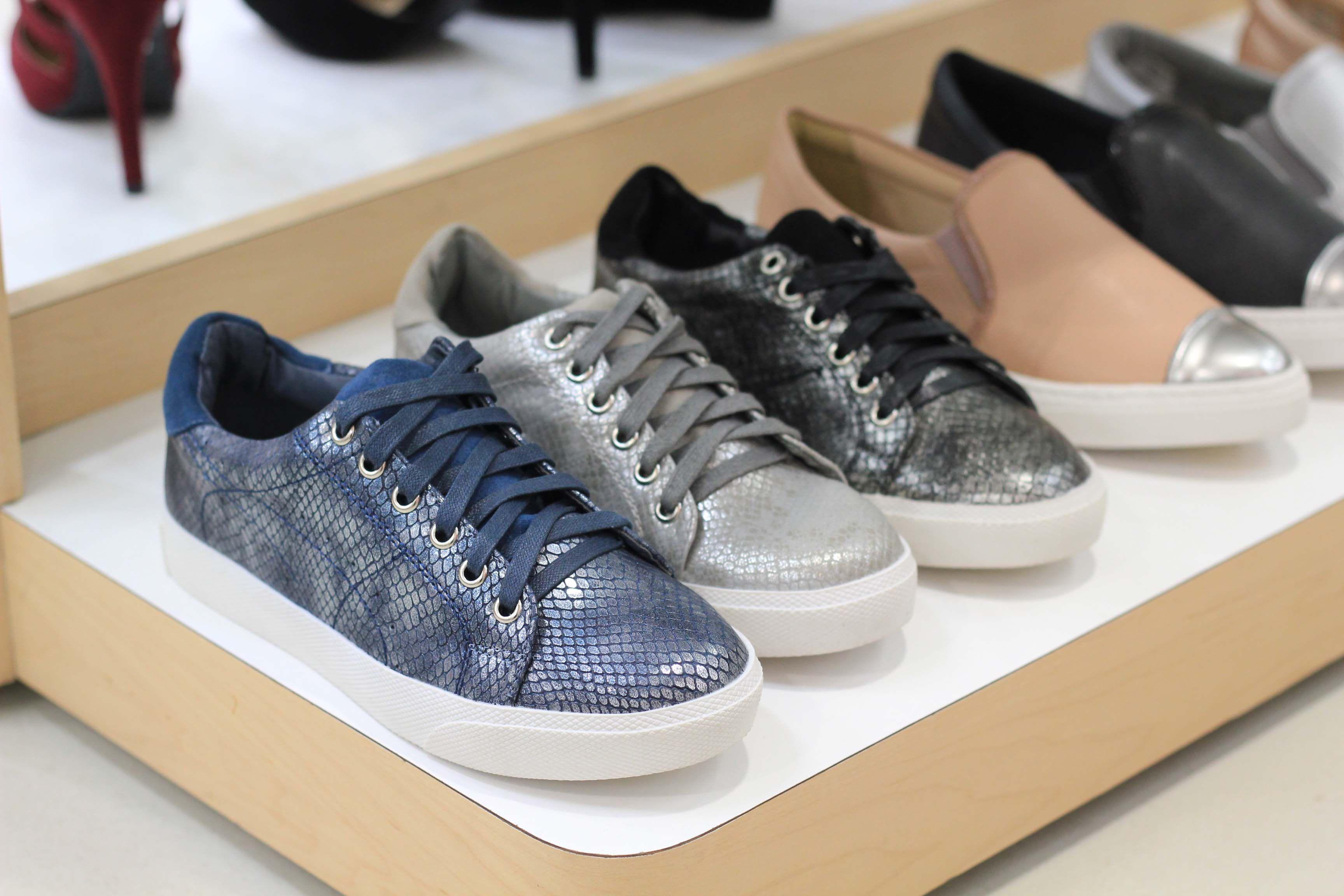 9d83cc9a0cd Resultado de imagen para calzado deportivo cuero metalizado ...