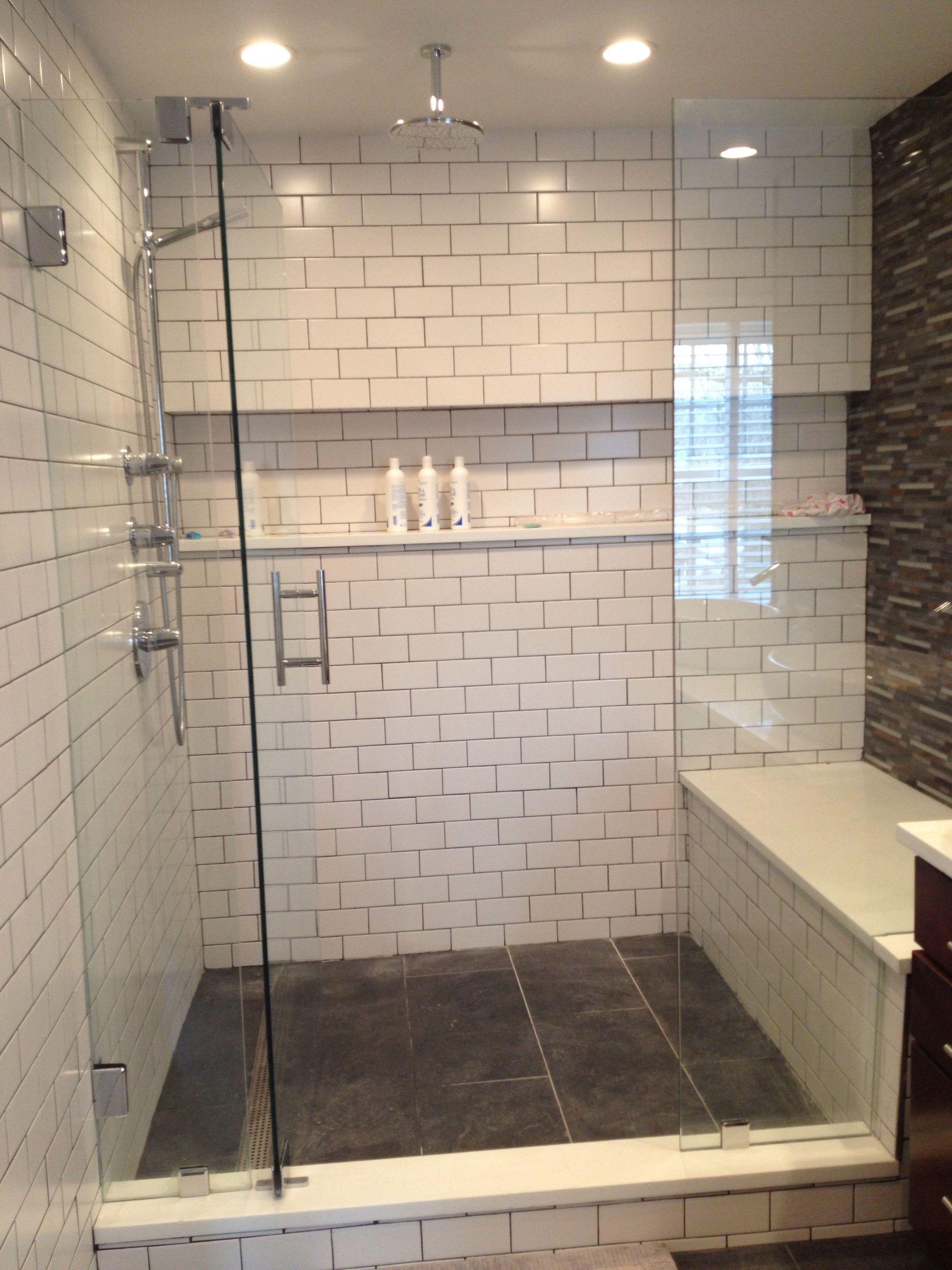 Long Ledge In Shower Huge Bench Brilliant Shower Remodel Cheap Bathroom Remodel Bathrooms Remodel