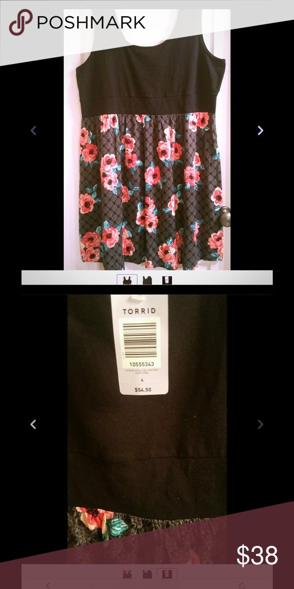 Torrid dress New with tags,size 4 torrid Dresses Mini
