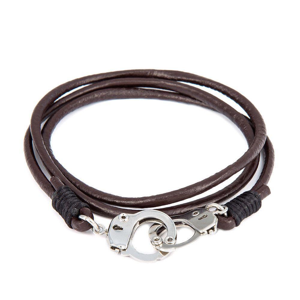 New Leather Bracelet Anchor Bracelet Pulsera Hombre Men Jewelry Pulsera  Ancla Charms Bracelets & Bangles Man