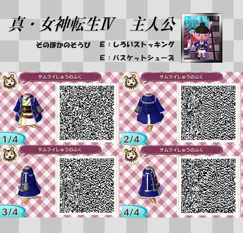 Animal Crossing New Leaf Qr Code Acnl Pinned By Stephy Sama