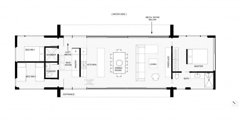 Pin By Prjamka On Plannen Architectural Floor Plans Architecture House House Plans